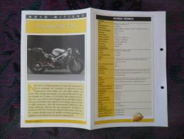 SCHEDA MOTO MITICHE TOP MOTO PER COLLEZIONISMO - HONDA NR 750 - - Motor Bikes