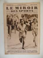 Le Miroir Des Sports N° 442 - 7 Aoüt 1928 Marathon Olympique à Amsterdam + Voile , Aviation, Auto,Rugby,Foot - Boeken, Tijdschriften, Stripverhalen
