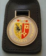 Pc: Porte-clef Métalique : Sapeurs Pompiers De Genève - Portachiavi