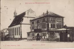 67 SOUVENIR DE WASSELONNE - L EGLISE ET LA MAIRIE - Wasselonne