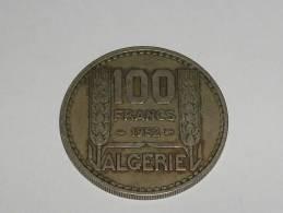 100 Francs 1952 Algerie Francaise - Algérie
