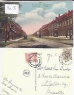 LEOPOLDSBURG : COUWENBERGHSTRAAT (KLEUREN, OUDE WAGEN) - Leopoldsburg