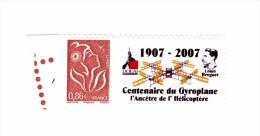 Lamouche 0.86 € Brun Personnalisé Autoadhésif Avec Grand Logo YT 3969A . Rare , Voir Scan . Cote Maury N° 65 : 16 € - Personalized Stamps