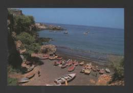 Postcard CABO VERDE S. TIAGO ISLAND & Fisher Boats CAPE VERDE AFRICA AFRIKA CAP VERT - Cap Vert