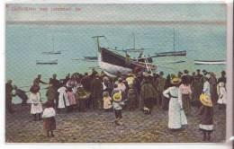 3-Lytham St. Annes-Lancashire-Inghilterra-Regno Unito-Animata-Barche-Boat -Bateaux-Scialuppa Di Salvataggio 509-1909 - Inghilterra