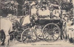 4862 - Cognac La Fête Des Fleurs Du 9 Juin 1907 - Cognac