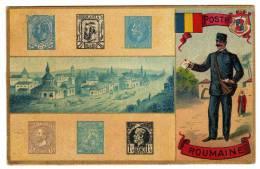 Roumanie : Poste Roumaine :  Facteur - Timbres - Roemenië