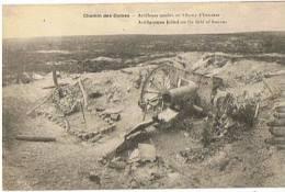 Le Chemin Des DAMES Artilleurs Tombés Au Champ D'honneur - 1914-18