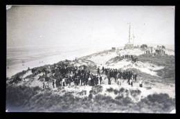"""Sangatte Blériot Plage Ou """" Les Baraques Plage """"  Près Calais - Cérémonie """" Départ De Lessys Aux Baraques """" Mai 1910 - Sangatte"""