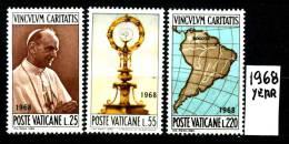 VATICANO -  Visita Di PAOLO VI A BOGOTA' -serie CompletaI - Years 1965 - Nuovo - News - - Vatican