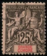 Grande Comore (1897) N 8 (o) - Grote Komoren (1897-1912)