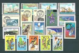 Barbade:  464/ 471 + 489/ 499 ** - Barbades (1966-...)