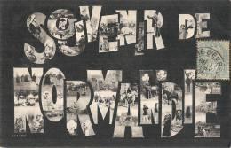 Souvenir De Normandie Multivues écriture - Haute-Normandie