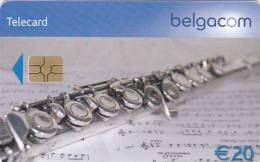 Carte Clarinet 20 Euro (Used) Très Bon Etat Rare - Belgien