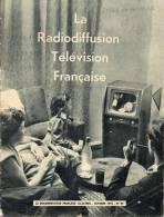 LA  RADIODIFFUSION  TELEVISION  FRANCAISE.-  PETIT  LIVRE DE 31 PAGES  ( LYCEE DE MORLAIX)  1954 - Cinéma/Télévision