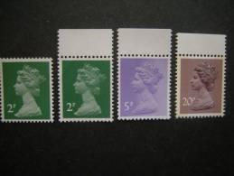 G. B. 1980, 936A/C - Elizabeth +2p 15x14, 20 P. Phosphor, MNH** Postfrish, Perfect - 1952-.... (Elizabeth II)