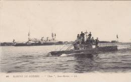 "Le Sous - Marin "" Thon "" - Onderzeeboten"