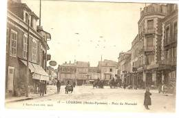 65 - LOURDES - Place Du Marcadal - Lourdes