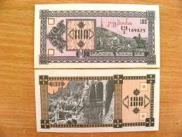 UNC Banknote From Georgia 1993 Pick #38, 100 Laris - Géorgie