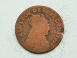 LIARD DE FRANCE ( C Ou G ) 16?? / KM ? ( Uncleaned Coin / For Grade, Please See Photo ) !! - 987-1789 Monnaies Royales