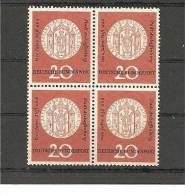 DSP2086/ BrdMi.nr.255/ Aschaffenburg Im 4-Block ** - Unused Stamps