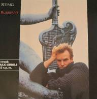 """* 12"""" EP *  STING - RUSSIANS (Germany 1985 EX-!!!) - 45 Toeren - Maxi-Single"""