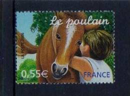 FRANCE 2006 Un Timbre (1) YT N° 3899** Jeunes Animaux Domestiques LE POULAIN 0.55€ - Nuovi