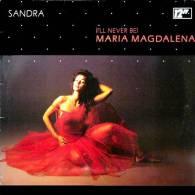 """* 12"""" Single *  SANDRA - I'LL NEVER BE MARIA MAGDALENA Germany 1985 EX-!!!) - 45 Toeren - Maxi-Single"""