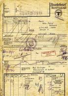 Lörrach V. 1946 Frachtbrief - Zoll (34359) - Frankreich