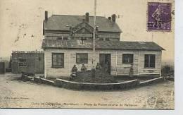 Camp De COËTQUIDAN : Poste De Police Central De Bellevue - édit. Baglin Rennes - Francia