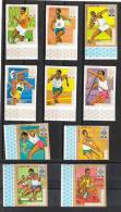 Burundi   -  1968.Discipline Della Atletica Leggera. Disciplines Of Athletics. Serie Complete  MNH, Fresh, Imperforated - Sommer 1968: Mexico