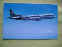 AVION BOEING 707-320 - AUTRE VUE - OLYMPIC AIRWAYS - CARTE FORMAT CPA - BON ETAT - Avions
