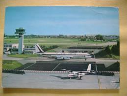 AVION BOEING 707  - CARTE FORMAT CPSM ECRITE EN 1977 - BON ETAT - Avions
