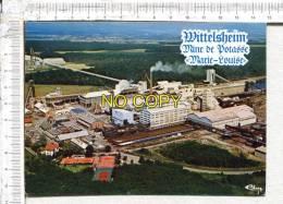 "WITTELSHEIM -  Mines De Potasse  ""  MARIE LOUISE ""  - Vue Aérienne - Wittenheim"