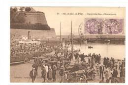 56   BELLE-ILE -EN-MER   Départ Des Cars D'Excursions - Belle Ile En Mer