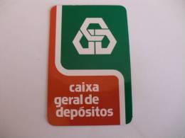 Banque/Bank/Banco Caixa Geral De Depósitos Portuguese Pocket Calendar 1979 - Calendarios