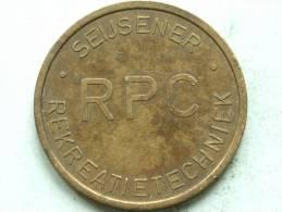 RPC SEIJSENER REKREATIE TECHNIEK / Koperkleurig ( Details Zie Foto´s) !! - Nederland