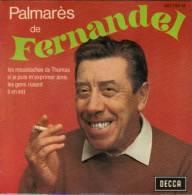 EP  FERNANDEL  **  LES MOUSTACHES DE THOMAS - Vinyl-Schallplatten