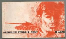 Livret ARMEE De TERRE 100pages, Planches Couleurs (uniformes, Insignes= - Dokumente