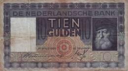 NIEDERLANDE - NETHERLANDS - 10 Gulden 1933 - [2] 1815-…: Königreich Der Niederlande