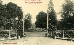 27-AMFREVILLE-LA-CAMPAGNE      ENTREE DU CHATEAU. .CPA - Autres Communes