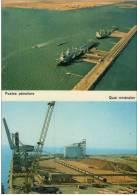 Carte Postale PORT DE FOS SUR MER PORT PETROLIER PORT MINERALIER VRAC CARGO MARSEILLE PORTIQUE GRUE - Joliette