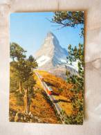 Zermatt  -train   D79166 - Trains
