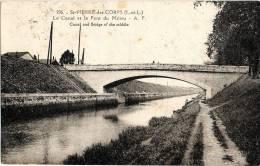 SAINT-PIERRE-DES-CORPS (Indre-et-Loire 37) : Le Canal Et Le Pont Du Milieu. 49 Avenue Georges Pompidou. - Frankrijk