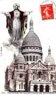 Paris - Souvenir Du Sacré-Coeur De Montmartre - 017 - Dos Séparé - Circulé En 1914 - TBE - Sacré Coeur