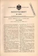 Original Patentschrift - E. Oberwinter In Lippstadt , 1898 , Irdenes Kochgefäß , Kochtopf , Topf !!! - Eisenarbeiten