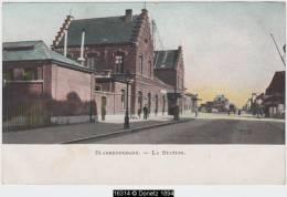 16314g STATION - GARE - Blankenberghe - Blankenberge