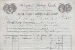 2312 -  CREUSE THIBERVILLE 1892 - FABRIQUE DE RUBANS PERCALES - Altri
