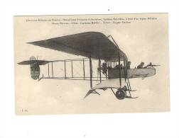 Aviation Militaire -  Biplan FARMAN - Pilote : Capitaine MAILFERT - ....-1914: Precursors