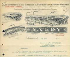 2323 -  CREUSE LOUVIERS 1919  - MANUFACTURE CARDE COURROIE - Altri